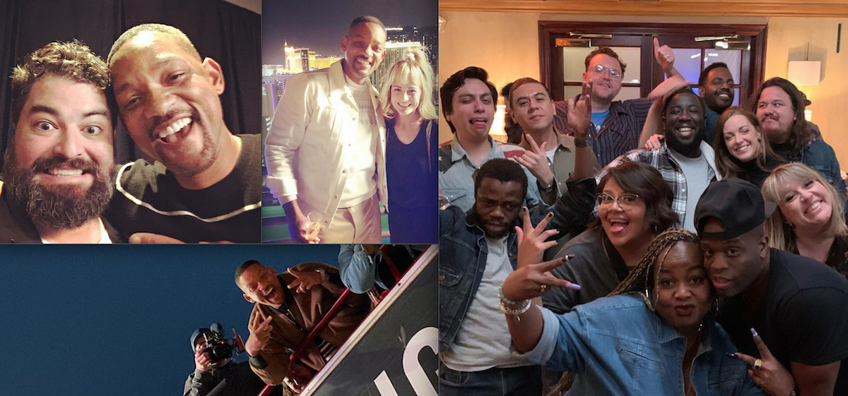 Will Smith spent the week in Las Vegas with a bunch of stand-up comedians filming and interviewing them