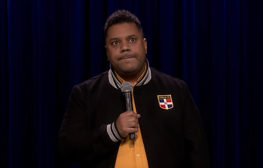 Orlando Leyba on The Tonight Show Starring Jimmy Fallon