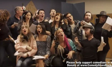 "Comedy Gives Back as 60 comedians sing all-star holiday song ""Christmas Magic"""