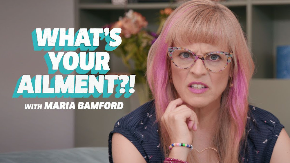 """Maria Bamford returns to Topic with """"What's Your Ailment?!"""""""