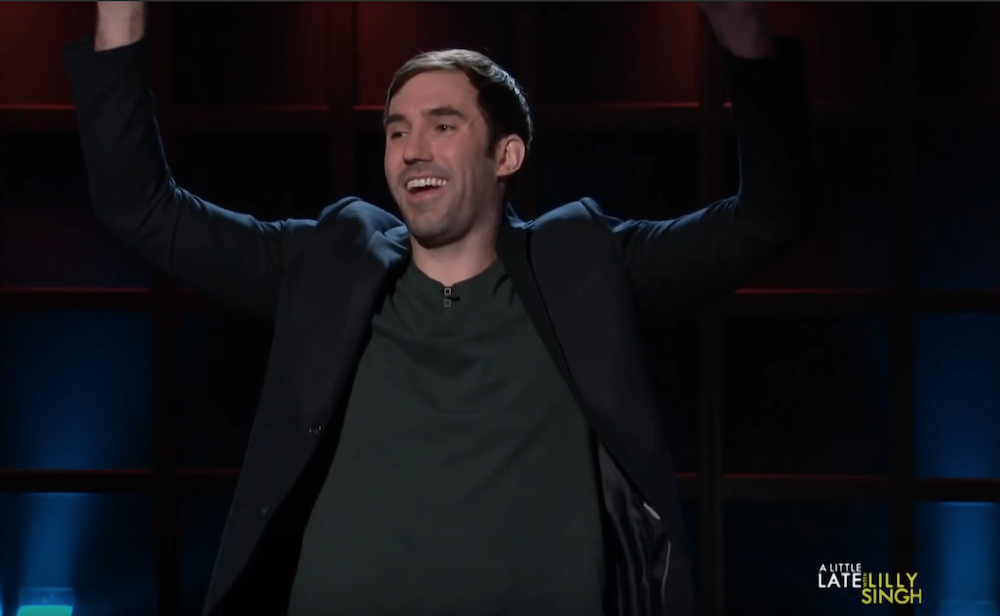 Michael Palascak on A Little Late with Lilly Singh