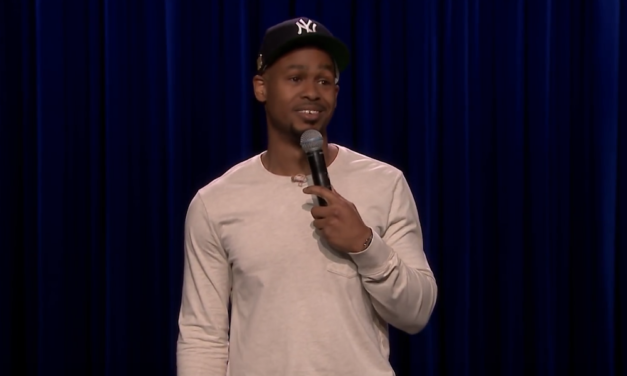 Andre D. Thompson on The Tonight Show Starring Jimmy Fallon