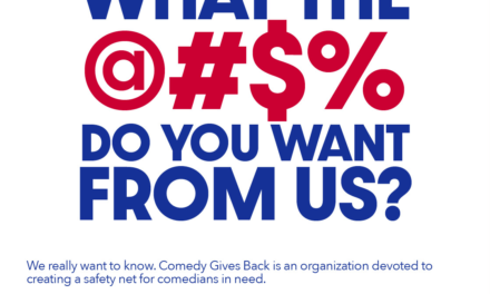 Stand Up for yourself and other comedians at Comedy Gives Back forums