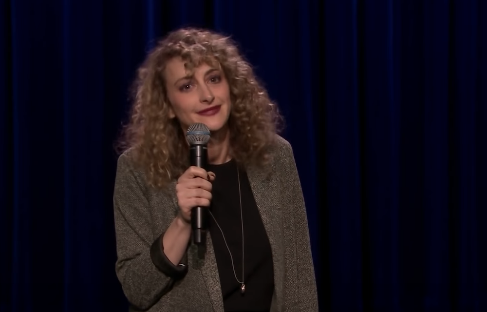Jo Firestone on The Tonight Show Starring Jimmy Fallon