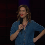 Lou Sanders on The Late Late Show with James Corden