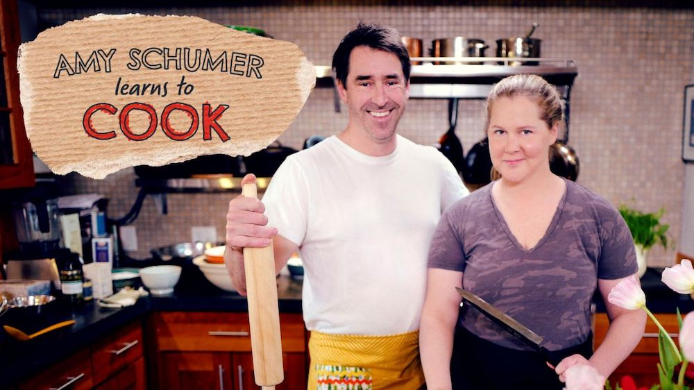 Amy Schumer Learns To Cook During Quarantine For The Food Network