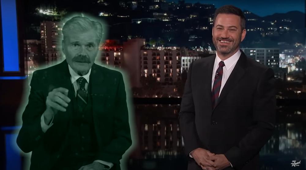 Jimmy Kimmel Pays Tribute To Fred Willard