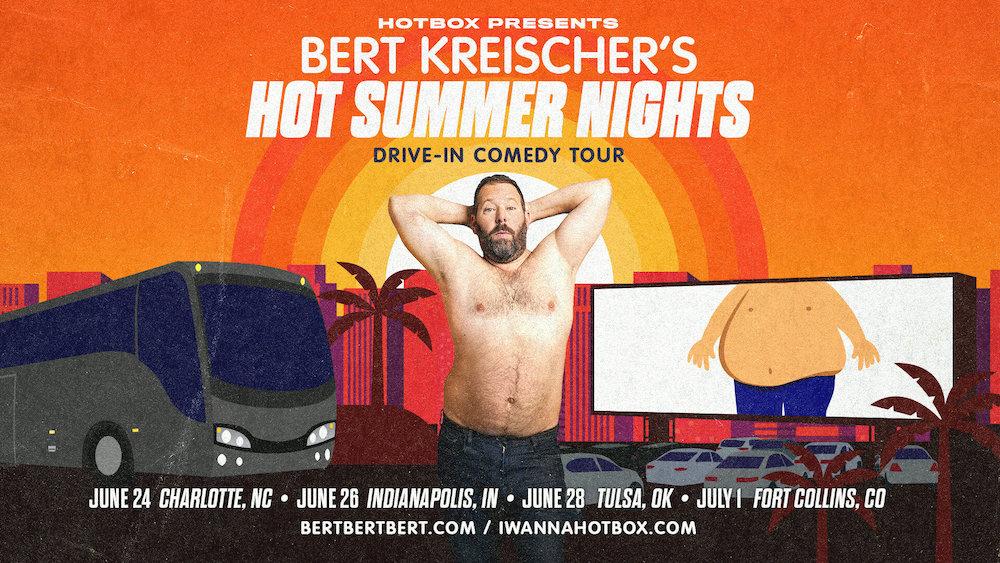 Bert Kreischer Announces Drive-In Stand-Up Summer Tour for 2020