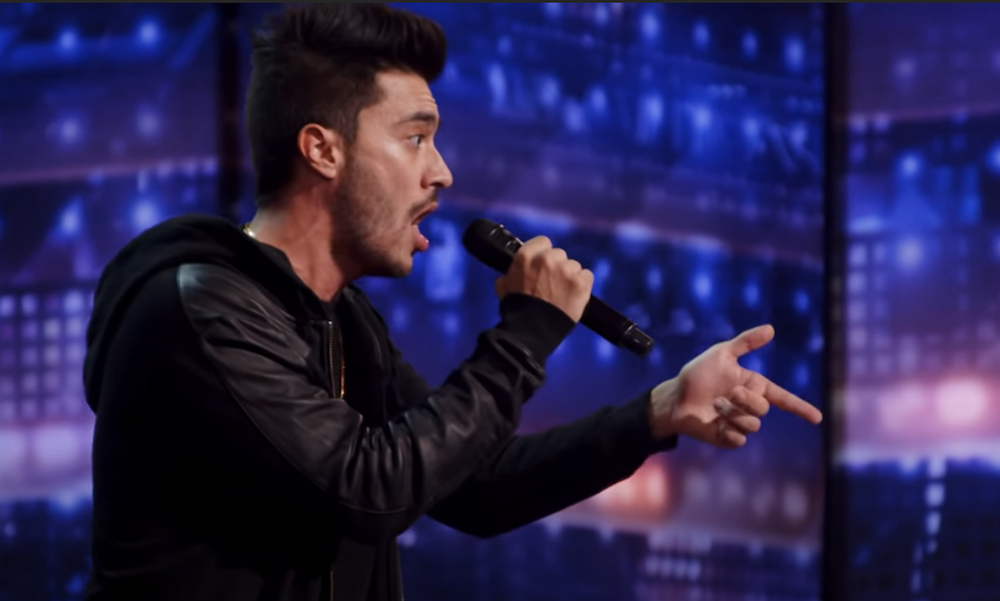 Vincent Marcus impersonates Famous Rappers Doing Nursery Rhymes for America's Got Talent 2020