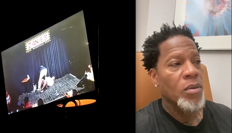 D.L. Hughley Passes Out Onstage at Zanies Nashville, Tests Positive at Hospital for COVID-19