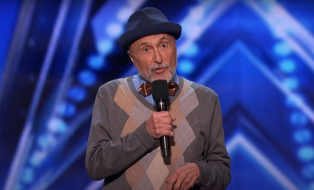 80-Year-Old Marty Ross Auditions For America's Got Talent