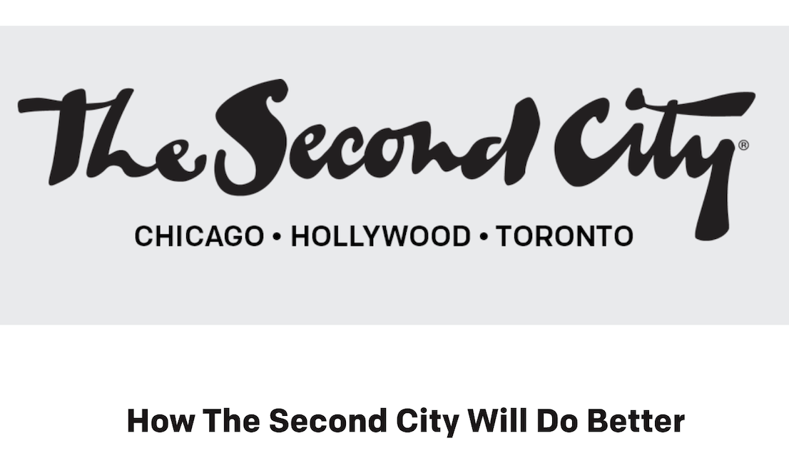 CEO of The Second City Resigns in Response to #BlackLivesMatter