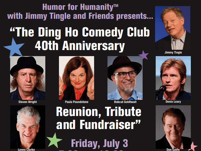 Old-School Boston Comedians Celebrate 40th Anniversary of Ding Ho to Honor Late Barry Crimmins and his widow