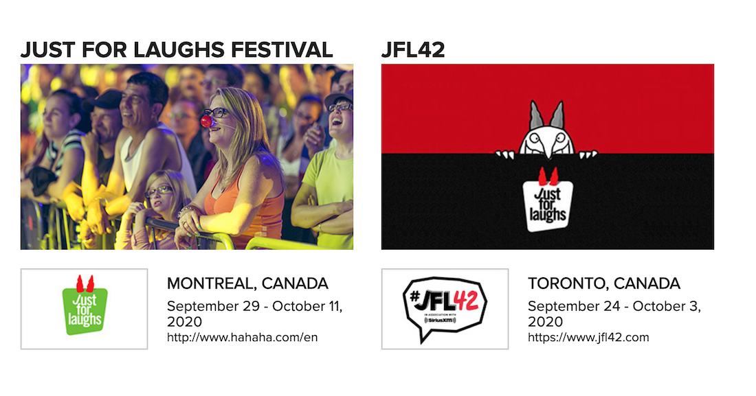 Just For Laughs Cancels JFL42 for 2020; Can Montreal Be Far Behind?