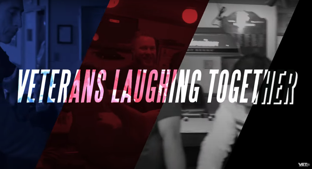 VET TV Showcases Purple Heart Recipients in Veterans Laughing Together series