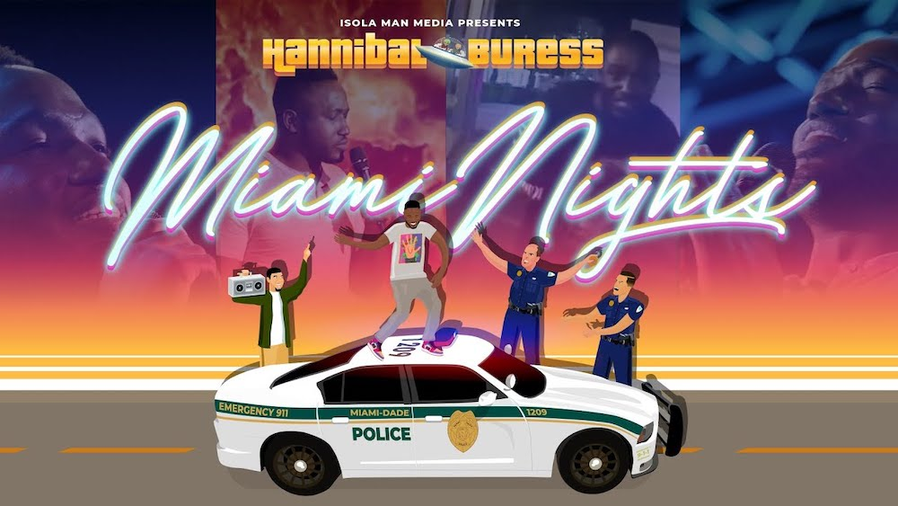 "Review: Hannibal Buress, ""Miami Nights"" on YouTube"