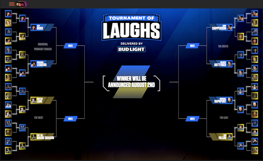 Tournament of Laughs on TBS: The Exceptional 8