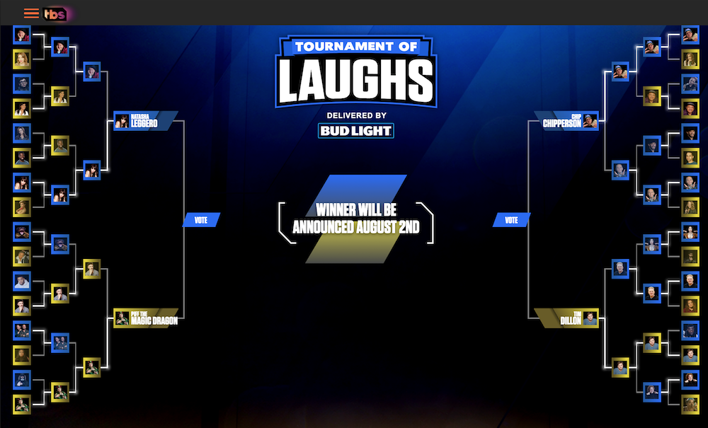 Tournament of Laughs 2020 on TBS: Who are the Final Four?