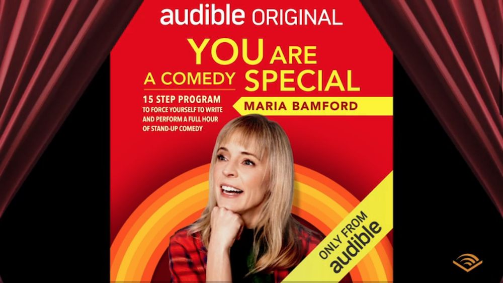 Maria Bamford Will Teach You How To Write an Hour Comedy Special On Audible