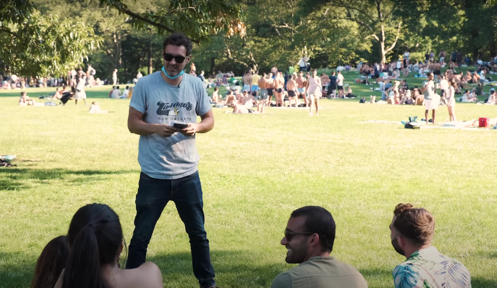 Mark Normand on Performing in Central Park