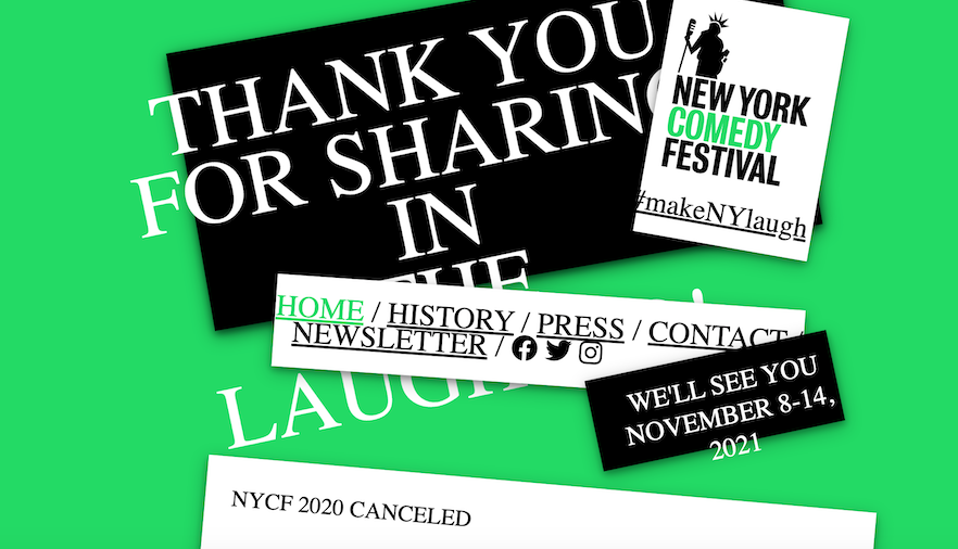 Moontower and New York Comedy Festivals Will Skip 2020