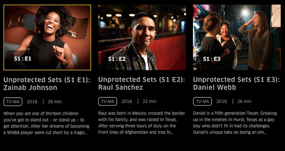 "EPIX Showcase Series ""Unprotected Sets"" Will Also Become A Podcast"