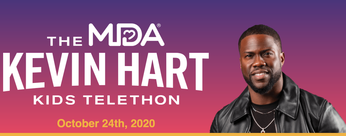Kevin Hart taking over for the late Jerry Lewis as host of The MDA Telethon
