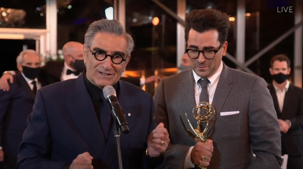 Schitt's Creek sweeps, and more from the 2020 Emmy Awards