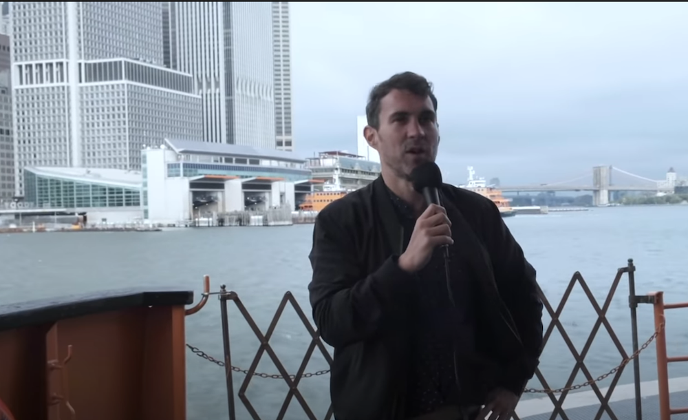 Mark Normand on the Staten Island Ferry, On The Tonight Show Starring Jimmy Fallon