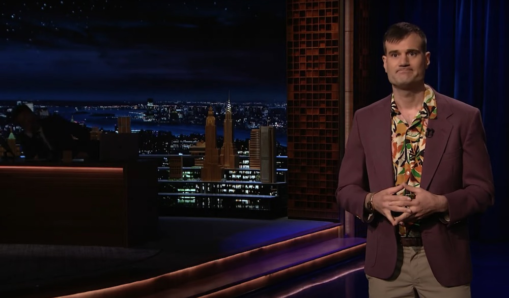 Graham Kay on The Tonight Show Starring Jimmy Fallon