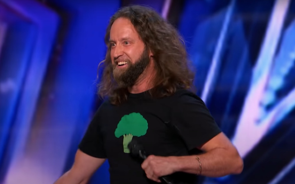 Josh Blue Auditions for America's Got Talent 2021