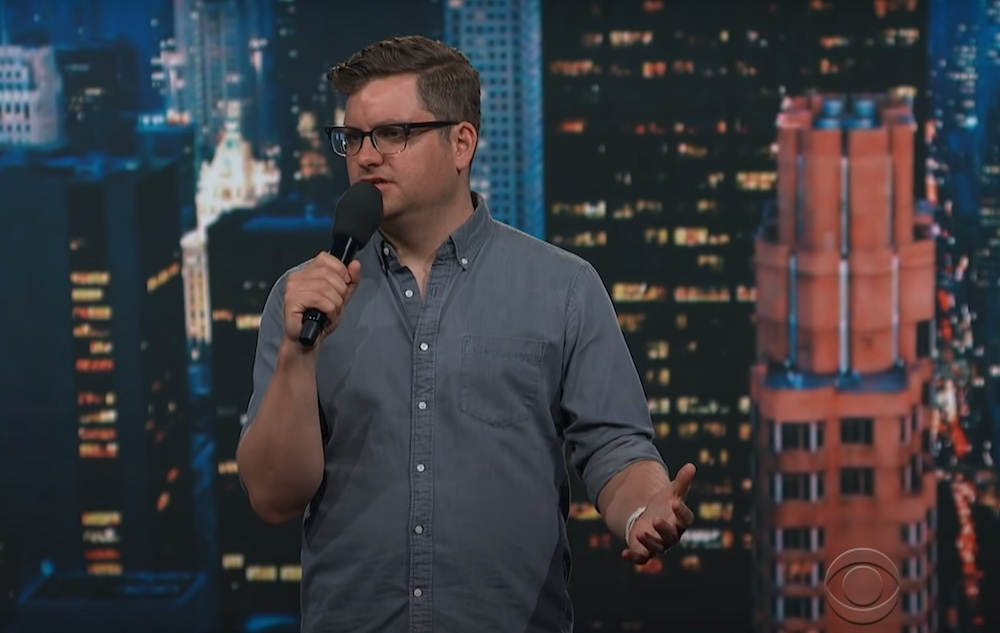 Alex Falcone on The Late Show with Stephen Colbert
